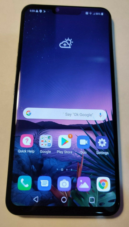 LG G8 ThinQ - 128GB -Smartphone UNLOCKED