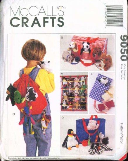 McCall's Crafts Accessories fot Bean Bag Babies #9050