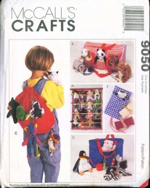 McCall's Crafts Accessories fot Bean Bag Babies #9050