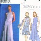 Simplicity #8600 MILLENNIUM Dress 7 Scarf Pattern 10-12-14 UNCUT