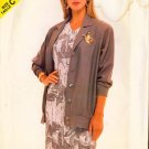 Vintage 1987 See & Sew BUTTERICK pattern #5815 EASY Couture Jacket & Dress 20-22-24 UNCUT
