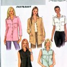 Butterick Fast & Easy Pattern 3926 Misses' Loose-fitting Top 12-16 UNCUT