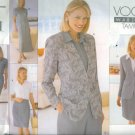 Vogue Pattern 2090 Wardrobe Tamotsu Misses Jacket, Dress, Top, Skirt & Pants Size 8-12 UNCUT