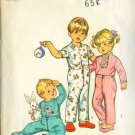 Simplicity #5051 Toddler's Pajamas & Transfer Pattern Size 2