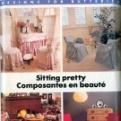 Butterick 6763 Better Homes And Gardens designs for Butterick Chair cover Sewing Pattern UNCUT