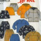 New Look for Kids 6583 EASY Hooded Jacket, Top, Pants or skirt Size 4-9 UNCUT