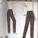 Vogue 1003 Misses Fitting Shell Sloper Pants Size 8 UNCUT