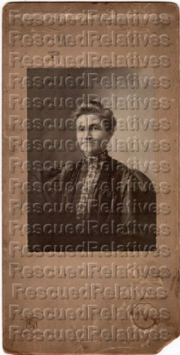 SHOUSE, CHRISTINA ELY GRAHAM, Identified photograph, BEVIER, MO.