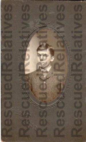BRUBAKER, AARON, Identified photograph, Lancaster, Pa.
