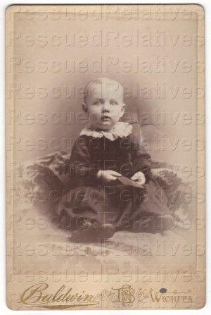 GUNSAULLUS, EARL, Identified Photograph, born abt. 1889, OKLAHOMA