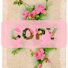 GARRETT, MISS BESSIE, Freeland, MI., i'd postcard from her Aunt CORA GARRETT GOOLD