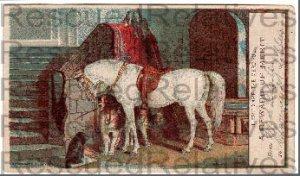 LIBBEY, CLARENCE M.,  Reward of Merit Card