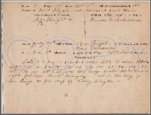 SUTHERLAND, THOMAS W., born 1818, PA., old  id document, circa 1880's, SAN DIEGO, CA.