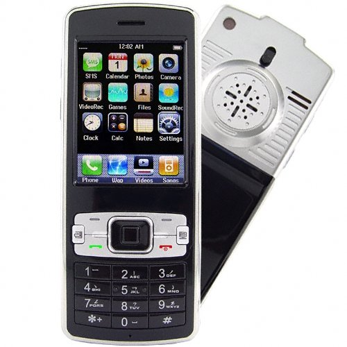 Projector Phone - Tri-Band GSM/GPRS Touchscreen Cell Phone