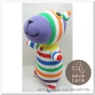 Handmade Sock Monkey Bear Stuffed Animals Doll