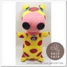 Handmade Sock Monkey Pig Stuffed Animals Doll