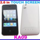 KA09 Touchscreen Mobile Phone White