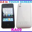 KA09 Touchscreen Mobile Phone White