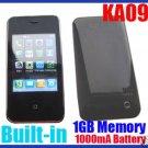 KA09 Touchscreen Mobile Phone Black