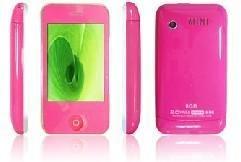 KA08 Touchscreen Mobile Phone Pink