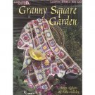 Granny Square Garden 7 floral afghan design petterns booklet #2583
