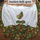 Handmade vintage Southern Belle apron