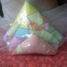 multi color triangle sachets with lavender inside