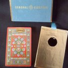 general electric advertising floral vintage Congress playing cards United States Playing Card Co.