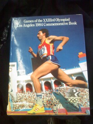 Games of the XXIIIrd (23) Olympiad Los Angeles 1984 Commemorative Book -official collector