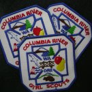 Girl Scout Columbia River Council Patch - group of 20