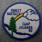 Girl Scout Camp Julianna 1980 Patch