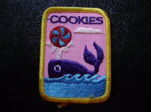 Girl Scout cookie Sales Participation Patch