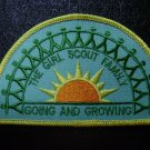 Girl Scout patch - The Girl Scout Family - Going and Growing