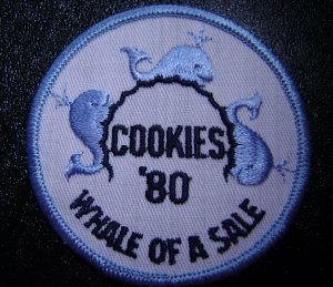 Girl Scout - Whale of a Sale - Cookies 1980