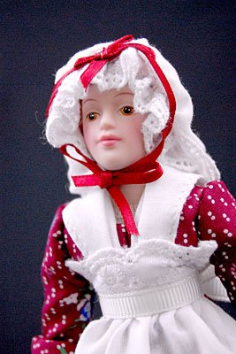 Avon - Porcelain Doll - Early American