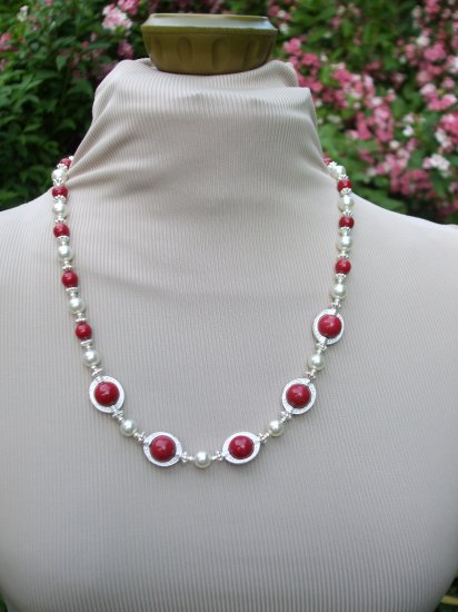 SET - VINTAGE STONE AND PEARL