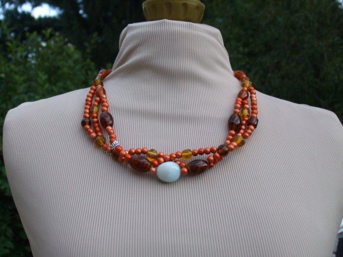 Autumn surprise necklace