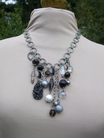 Black Beauty Statement Necklace