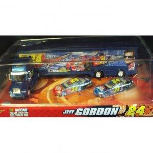 Jeff Gordon #24 - Big Rig With 2 Stock Cars