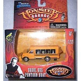 Monster Garage - Skool Bus Pontoon Boat