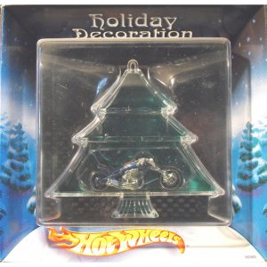 Hot Wheels - Holiday Decoration - Motorcycle