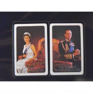 Queen's Silver Jubilee - Bridge Card Decks - 1977
