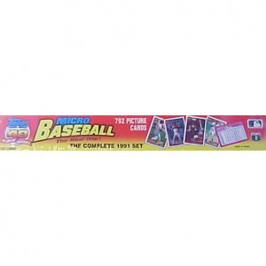1991 Topps Micro Baseball Complete Set - Sealed!!!