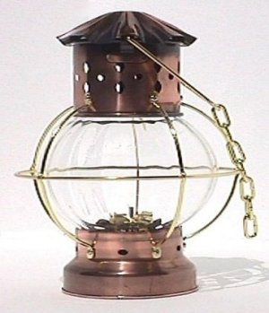 Lifeboat or Onion Lamp