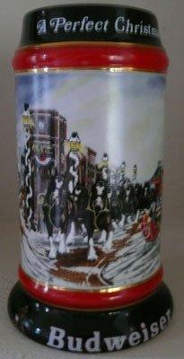 Anheuser-Busch 1992 Collector's Christmas Mug Stein