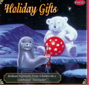 Coca Cola Holiday Gifts CD Christmas Music
