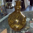 Vintage Brandy Bottle - Amber