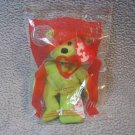 2004 TY Fries the Bear Teenie Beanie MIP