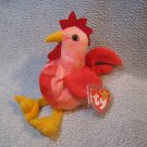 Doodle the Rooster TY Beanie Baby Retired MWMT