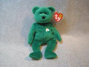 Erin the Bear TY Beanie Baby Retired MWMT
